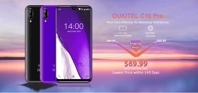 "OUKITEL C16 Pro 5.71"", 3GB y 32GB 1560266638448-png.362436"