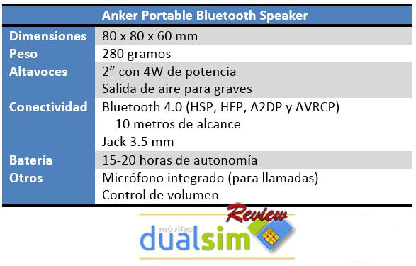 Anker-Portable-Bluetooth-Speaker-Especificaciones.