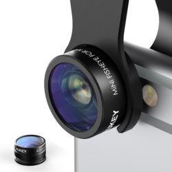 aukey ojo de pez telescopio.