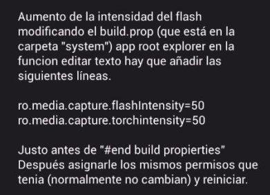aumentar densidad del flash.
