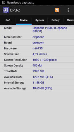 CPU Z 1.