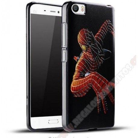 Repuesto tapa trasera Mi5 divertida-carcasa-silicona-diseno-spiderman-para-tu-xiaomi-mi5-jpg.306748