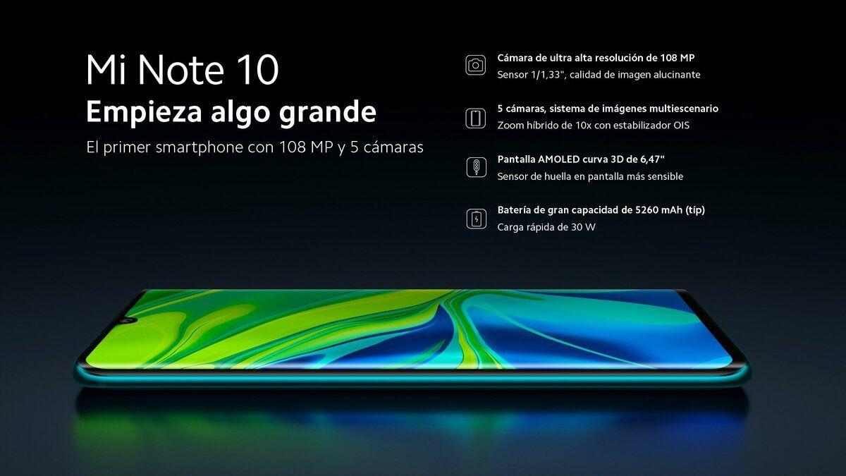 Xiaomi presenta oficialmente sus nuevos Mi Note 10 y Mi Note 10 Pro equipados con una espectacular cámara de 108MP eir6_wkxyaiy0gk-1-jpg.373519