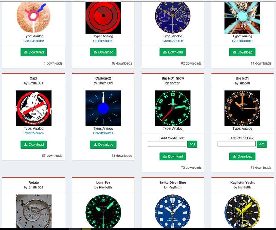 Añadir Esferas a Smartwatch No1 G6 esferas-jpg.149966