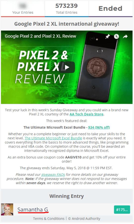 Sorteo internacional de un 'Google Pixel 2 XL' google-pixel-2-xl-international-giveaway-png.331182