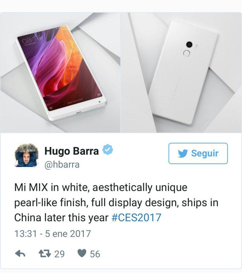 Xiaomi va a Las Vegas con un Mi Mix en blanco que seguirá sin salir de China img_20170105_141530-jpg.146808