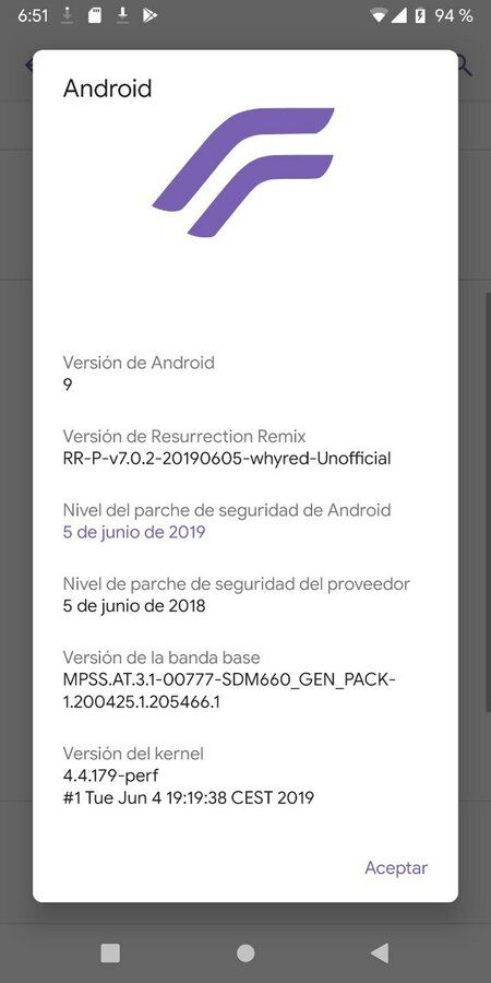 Resurrection Remix Unofficial Para RMN5  con Fw Pie by PriQue. Versión actual 05/06/19 img_20190605_085210-jpg.362010