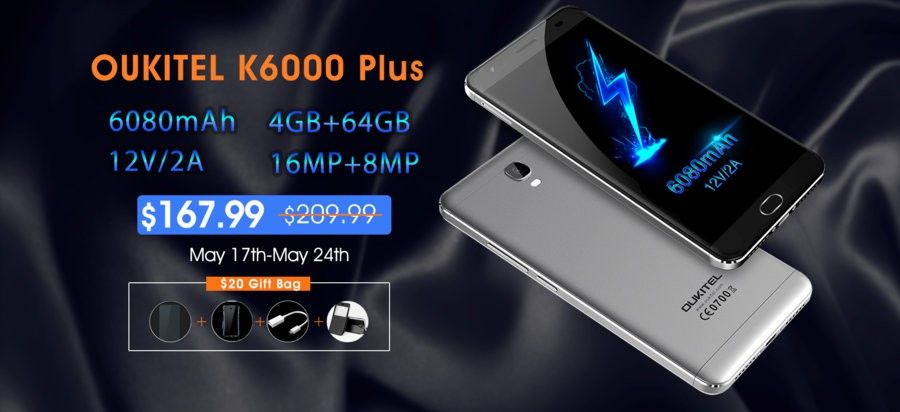 Venta Flash Oukitel K6000 Plus a 167,99$ k6000plus-flash-sale-jpg.287921