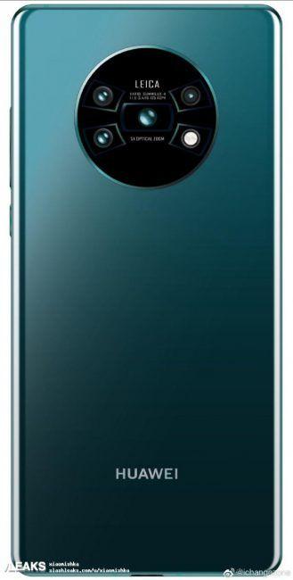 Este render del Huawei Mate 30 Pro avanza un diseño… diferente mate-30-pro-329x650-jpeg.364424