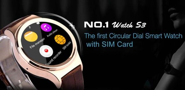 No1 Watch S3 Smartwatch.