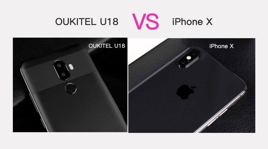 OUKITEL U18 VX iPhone X-1.jpg