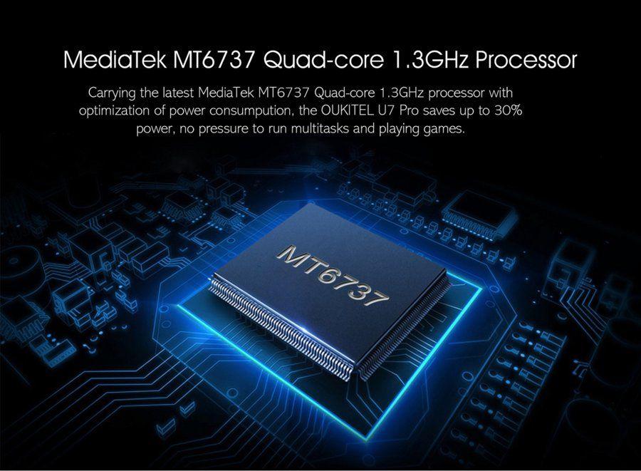 OUKITEL U7 Plus chipset.