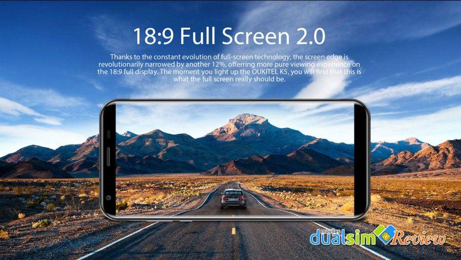 Oukitel K5 - Grande y Pequeño, es posible !!! pantalla-oukitel-k5-jpg.325545
