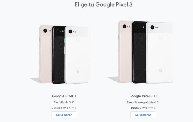 Durante 2 semanas puedes comprar los Google Pixel 3 con descuento de 200 euros pixel-3-650x412-png.362158