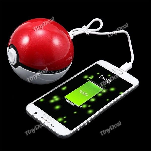 pokeball powerbank.