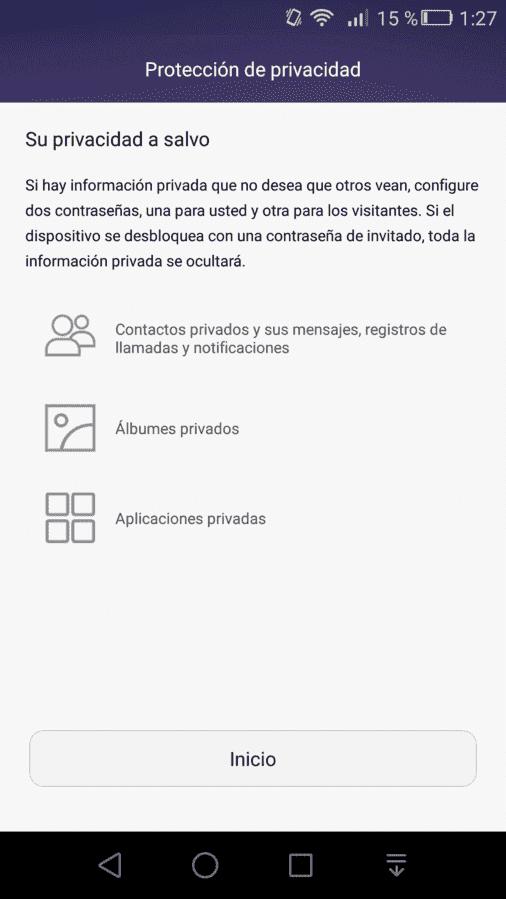 Privacidad Huella.