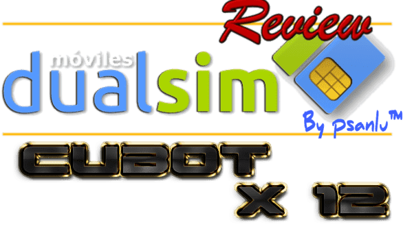 review cubot x 12.