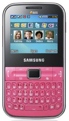 Samsung-Chat-322-Rosa.