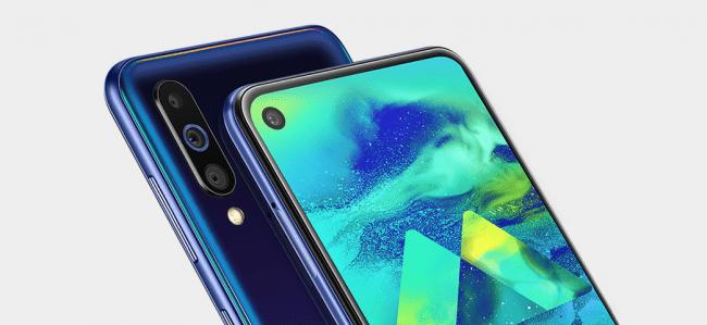 El Samsung Galaxy M40 es oficial, con panel Infinity-O y CPU Snapdragon samsung-galaxy-m40-1-650x299-png.362442