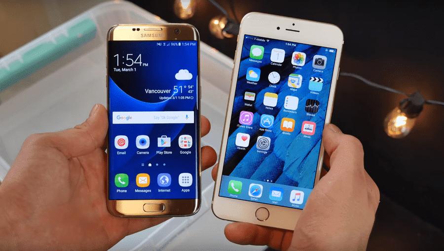 Samsung-S7-iPhone-6S-agua.