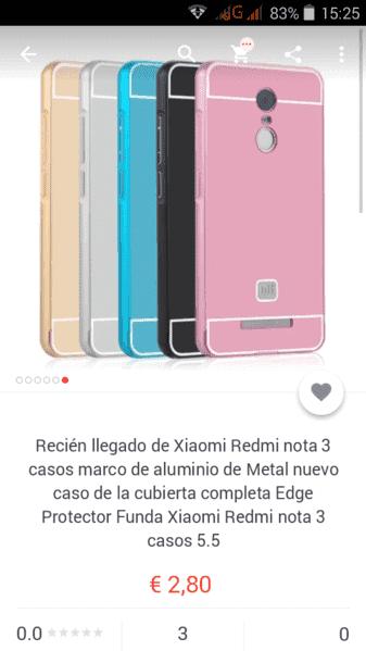 ACCESORIOS para nuestro Xiaomi Redmi Note 3. ¡Huye de los arañazos! screenshot_2015-12-08-15-25-53-png.107142