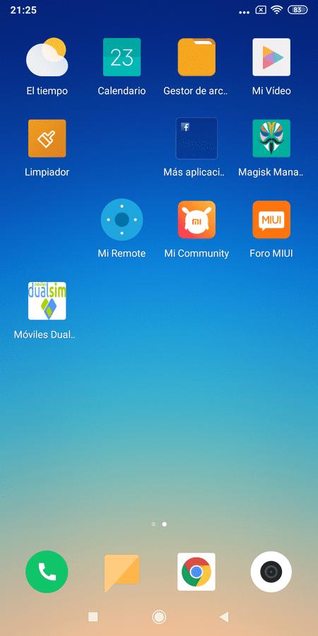 Rom Miui 10 Global para Xiaomi RMN5. Versiones para TWRP y FASTBOOT. Versión actual ESTABLE del 13/05/19. Última Beta PIE del 16/05/19 screenshot_2019-04-23-21-25-45-556_com-miui-home-png.358734