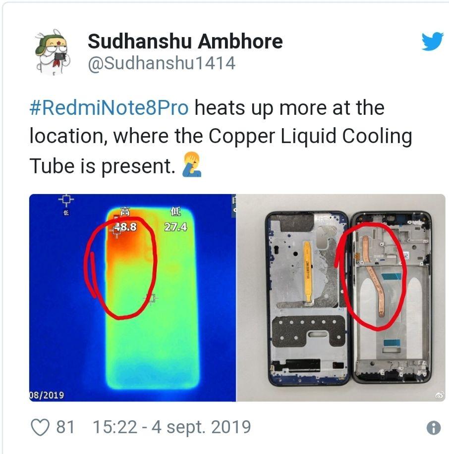 Reportan que la refrigeración líquida del Redmi Note 8 Pro no es suficiente para enfriar su procesador MediaTek screenshot_20190904-215108_samsung-internet-jpg.368636