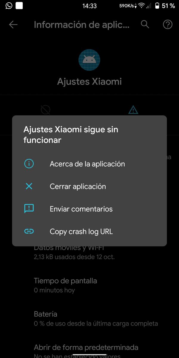 Seguimiento del Sistema Android 10  Para RMN5 (Whyred). Pruebas de las primeras roms screenshot_20191109-143313_ajustes-png.373744