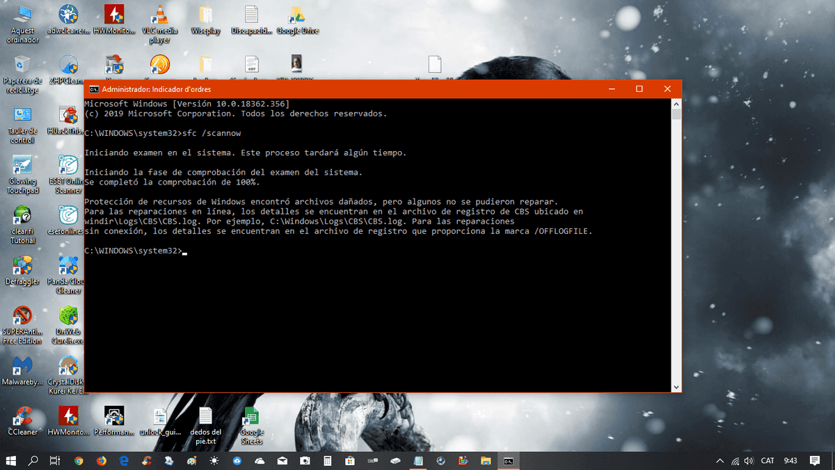 Sfc/scannow dice encuentra archivos que no puede eliminar. Solución? sense-titol-png.369157