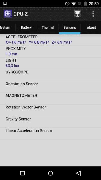 Sensores.