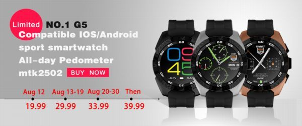 Smartwatch No.1 G5.