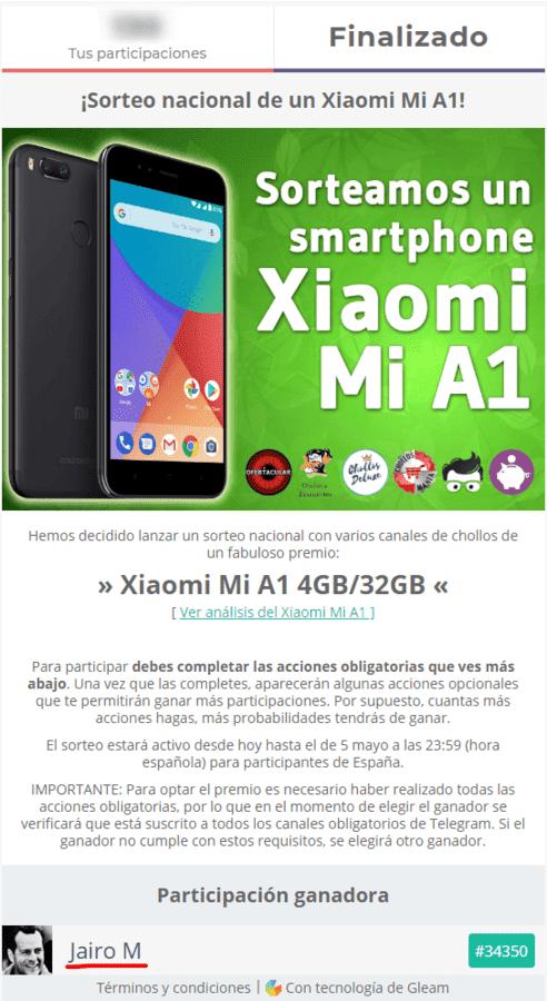 Sorteo de un Xiaomi Mi A1.png