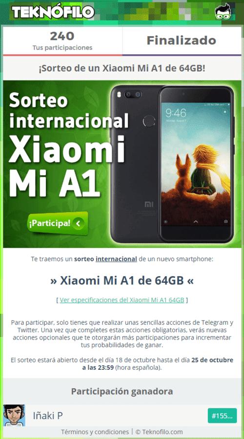 Sorteo internacional Xiaomi Mi A1.png