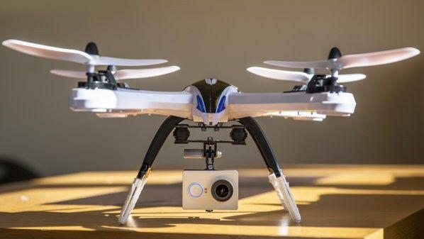 Tarantula X6 con Yi cam.