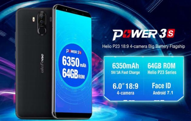 Ulefone Power 3S.