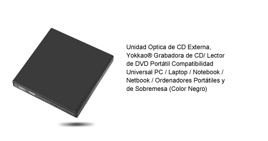 YOKKAO Grabadora de CD/ Lector de DVD Portatil USB 2.0 upload_2016-7-24_16-8-24-png.124769