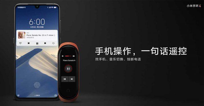 Xiaomi Mi Band 4: la nueva pulsera inteligente ahora tiene pantalla a color xiaomi-mi-band-4-musica-715x374-jpg.362354