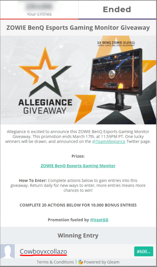 ZOWIE BenQ Esports Gaming Monitor Giveaway.png