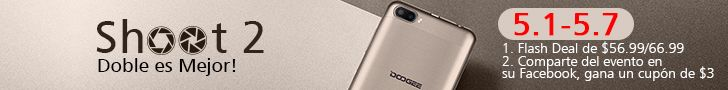 Doogee Shoot 2 Aliexpress Ofertas