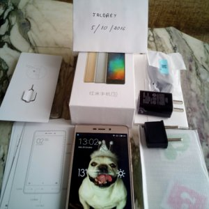 VENDO MOVIL DUALSIM XIAOMI REDMI3