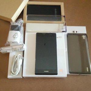 Huawei P7 + bateria externa Dodocool, de 5000 mAh.